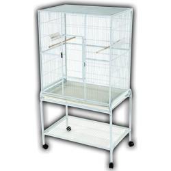 A&E Cage Company Flight Bird Cage in White found on Bargain Bro Philippines from petco.com for $180.60