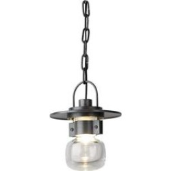 Hubbardton Forge Mason 8 Inch Tall 1 Light Outdoor Hanging Lantern - 363001-1005 found on Bargain Bro Philippines from Capitol Lighting for $891.00