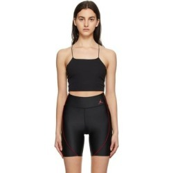 Yoga Luxe Camisole - Black - Nike Tops found on Bargain Bro from lyst.com for USD $49.40