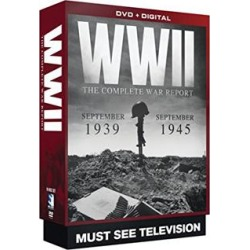WWII Diaries - 19 DVD Collectors Set found on Bargain Bro Philippines from PulseTV for $29.99