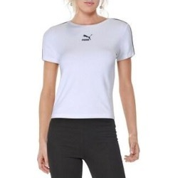 Puma Womens T-Shirt Fitness Yoga (Puma White - XL), Women's(cotton) found on Bargain Bro India from Overstock for $15.29