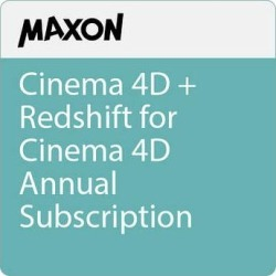 Maxon Cinema 4D + Redshift for Cinema 4D Annual Subscription MXRS-Y found on Bargain Bro Philippines from B&H Photo Video for $983.00