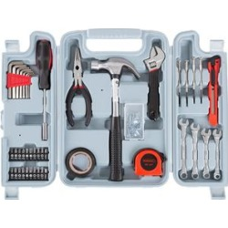 Stalwart Tool Sets - Heat-Treated 124-Piece Hand Tool Case Set found on Bargain Bro Philippines from zulily.com for $24.99