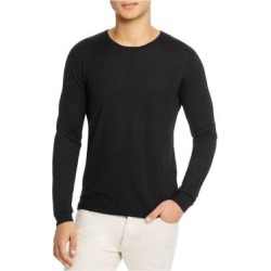 John Varvatos Mens Black Long Sleeve Crew Neck Classic Fit Sweater L found on MODAPINS from Overstock for USD $109.98