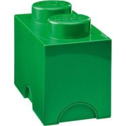 Room Copenhagen 028 - LEGO Dark Green 1x2 Storage Brick