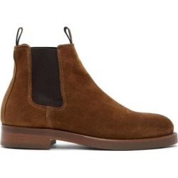 Brown Suede Longton Boots - Brown - Belstaff Boots found on MODAPINS from lyst.com for USD $405.00