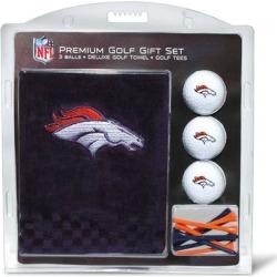 Denver Broncos Embroidered Golf Gift Set found on Bargain Bro from nflshop.com for USD $22.79
