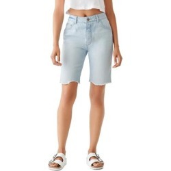 DL1961 Womens Clara Bermuda Shorts Cotton Denim - Kingsland found on Bargain Bro India from Overstock for $54.09