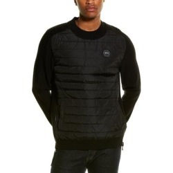 Canada Goose Hybridge Knit Reversible Wool Pullover (S), Men's, Gray found on MODAPINS from Overstock for USD $577.49