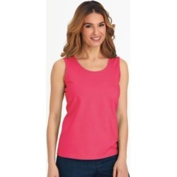 Women's Plus Stretch Tank, Berry Pink 3XL found on Bargain Bro India from Blair.com for $17.99