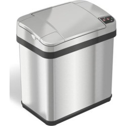 iTouchless Trash Cans Stainless - Stainless Steel Sensor 2.5-Gal. Trash Can found on Bargain Bro India from zulily.com for $39.79