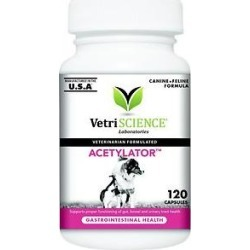 VetriScience Acetylator Everyday Health Dog & Cat Capsules, 120 count found on Bargain Bro from Chewy.com for USD $20.51