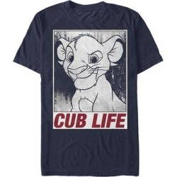 Fifth Sun Men's Tee Shirts NAVY - The Lion King Navy 'Cub Life' Tee - Men found on Bargain Bro Philippines from zulily.com for $14.58