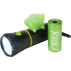 Lucy Belle Pets Green - Green LED Flashlight & Waste Bag Dispenser found on Bargain Bro from zulily.com for USD $9.11