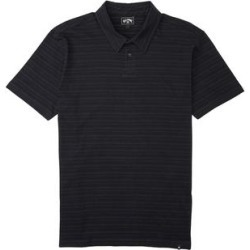 Billabong Boys' Polo Shirts RAVEN - Raven Button-Front Polo - Boys found on Bargain Bro India from zulily.com for $16.99