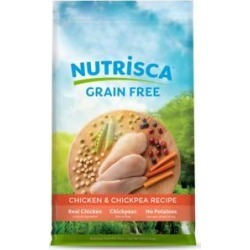 Nutrisca Grain-Free Chicken & Chickpea Recipe Dry Dog Food, 4-lb bag found on Bargain Bro Philippines from Chewy.com for $12.99