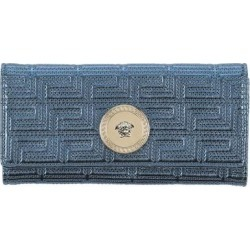 Wallet - Blue - Versace Wallets found on Bargain Bro from lyst.com for USD $248.52