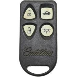 Cadillac Eldorado OEM 4 Button Key Fob-1 found on Bargain Bro from Refurbished Keyless Entry Remote for USD $30.23