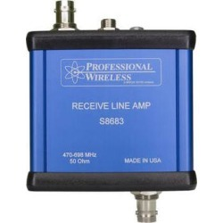 Professional Wireless Systems Receive Line Amp RF Signal Amplifier S8683 found on Bargain Bro Philippines from B&H Photo Video for $165.00
