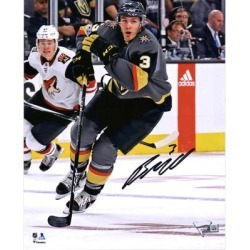 Brayden McNabb Vegas Golden Knights Fanatics Authentic Autographed 8'' x 10'' Black Jersey Skating Photograph found on Bargain Bro Philippines from Fanatics for $39.99