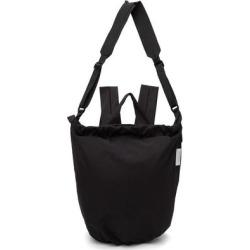 Black Tycho Smooth Backpack - Black - Côte&Ciel Backpacks
