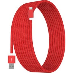 Tech Zebra Type-C Cables Red - Red 10' USB Type-C Charging Cable found on Bargain Bro India from zulily.com for $8.99
