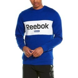 Reebok Big Logo Sweatshirt (S), Men's, Blue(cotton) found on Bargain Bro Philippines from Overstock for $36.29
