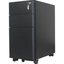 Inbox Zero File Storage 3-Drawer Vertical Filing Cabinet in Gray, Size 23.35 H x 19.69 W x 11.81 D in | Wayfair 7A0F48DEFCAE4A09946632833A459304 found on Bargain Bro Philippines from Wayfair for $209.99