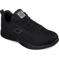 Skechers Work Relaxed Fit Ghenter Bronaugh SR Women's Water Resistant Shoes, Size: 6 Wide, Grey found on Bargain Bro from Kohl's for USD $49.39