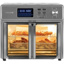 Kalorik 26 Quart Digital Maxx Air Fryer Oven by Kalorik in Stainless Steel found on Bargain Bro Philippines from Brylane Home for $199.99