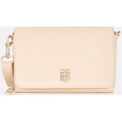 Th Soft Small Crossover Bag - Natural - Tommy Hilfiger Shoulder Bags found on Bargain Bro from lyst.com for USD $92.72