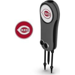 """Cincinnati Reds Switchblade Repair Tool & Two Ball Markers"""