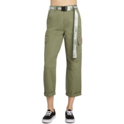 Belted Crop Utility Cargo Pants - Green - Dickies Pants found on Bargain Bro India from lyst.com for $70.00