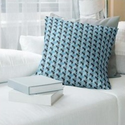 Porch & Den Durell 3D Cube Pattern Throw Pillow (20 x 20 - Teal - Synthetic Fiber), Multicolor found on Bargain Bro from Overstock for USD $54.71