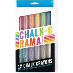 ooly Chalk - Chalk-O-Rama Chalk Crayon Set found on Bargain Bro Philippines from zulily.com for $7.99
