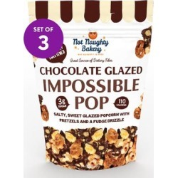 Not Naughty Bakery Popcorn - Impossible Pop Chocolate-Glazed Popcorn Set of Three found on Bargain Bro Philippines from zulily.com for $14.99