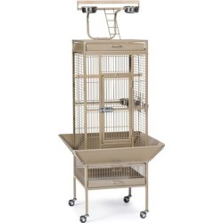 Prevue Pet Products Signature Select Series Wrought Iron Bird Cage in Coco Brown, Small