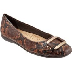 Women's Sizzle Slip On by Trotters in Dark Brown Snake (Size 6 M) found on Bargain Bro India from Woman Within for $99.99