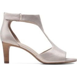 Clarks Women's Sandals Metallic - Metallic Alice Flame Leather Sandal - Women found on Bargain Bro from zulily.com for USD $22.72