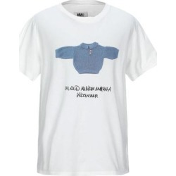 T-shirt - White - MM6 by Maison Martin Margiela Tops found on Bargain Bro from lyst.com for USD $115.52