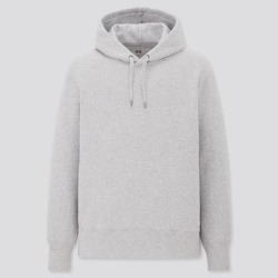UNIQLO Sweat Pullover Long-Sleeve Hoodie, Gray, M found on Bargain Bro Philippines from Uniqlo for $29.90