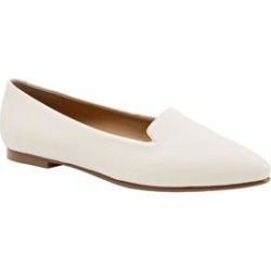Extra Wide Width Women's Harlowe Slip Ons by Trotters in Off White (Size 8 WW) found on Bargain Bro India from Woman Within for $104.99