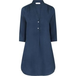 Linen Decima Dress Ensign Blue - Blue - Pink House Mustique Dresses found on Bargain Bro from lyst.com for USD $160.36
