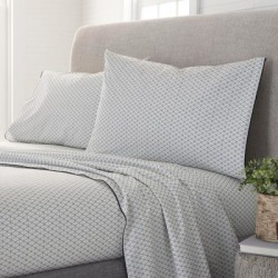 Porch & Den Fagode Organic Cotton Bed Sheet Set found on Bargain Bro from Overstock for USD $43.60