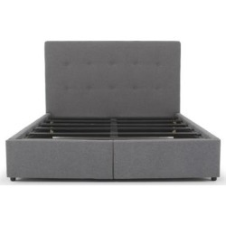 Safavieh Couture Fabian 2-Drawer Storage Bed found on Bargain Bro from Overstock for USD $1,116.43