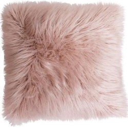 THRO by Marlo Lorenz Keller Faux Fur Throw Pillow, Pink, 16X16 found on Bargain Bro India from Kohl's for $27.49