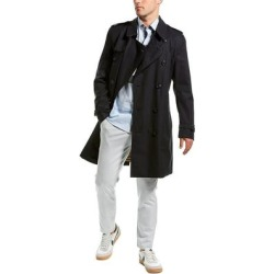 Burberry Kensington Trench Coat (50L), Men's, Multicolor(cotton) found on MODAPINS from Overstock for USD $1869.99