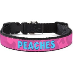 Personalized Planet Pet Collars - Pink Camo Personalized Dog Collar found on Bargain Bro from zulily.com for USD $11.39