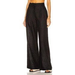 The Rivello Pant - Black - Asceno Pants found on MODAPINS from lyst.com for USD $390.00