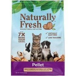 Naturally Fresh Pellet Unscented Non-Clumping Walnut Cat Litter, 10-lb bag found on Bargain Bro Philippines from Chewy.com for $7.99